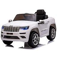 Elektrické autíčko JEEP GRAND CHEROKEE 12 V, biele