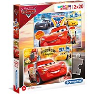 Puzzle 2× 20 autá 3