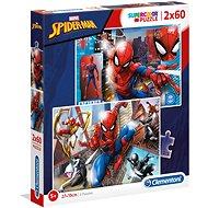 Puzzle 2× 60 Spider-Man