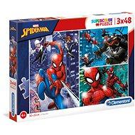 Puzzle 3× 48 spider-man