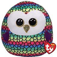Ty Squish-a-Boos Owen, 30cm - Coloured Owl