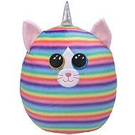 Ty Squish-a-Boos Heather, 22 cm – mačka s rohom