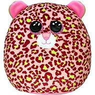 Ty Squish-a-Boos Lainey, 22 cm – ružový leopard