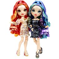 Rainbow High Fashion dvojčatá –  Laurel & Holly De'Vious