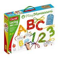 Lacing ABC + 123 - Vzdelávacia hračka