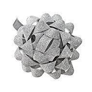 Dárková mašlička 80mm stříbrná - Balenie darčekov