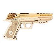 Ugears Wolf-01 model pištole - Drevená stavebnica