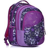 Explore Daniel Peace purple - Školský batoh