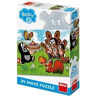 Krtko oslavuje narodeniny - Puzzle
