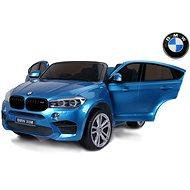 BMW X6 M modré lakované - Detské elektrické auto