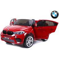 BMW X6 M červené lakované - Detské elektrické auto