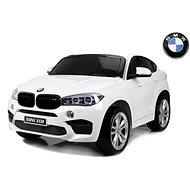 BMW X6 M biele - Detské elektrické auto