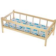 Postieľka drevená s perinkami - Detský nábytok