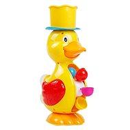 Kačička s mlynčekom na vodu žltá - Hračka do vody