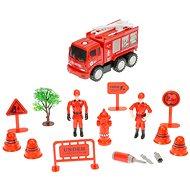 Súprava hasiči – auto so striekačkou skrutkovacie