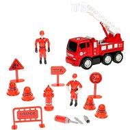 Súprava hasiči – auto s rebríkom skrutkovacie - Auto