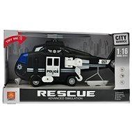Helikoptéra čierna - helikoptéra