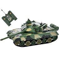 RC tank zeleno-hnedý - Tank na diaľkové ovládanie