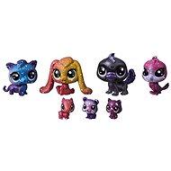 Littlest Pet Shop Kozmické zvieratká 7 ks – Black Hole - Sada