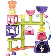 Littest Pet Shop Mačací domček so zvieratkom - Herný set