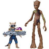 Avengers Deluxe Rocket s Grootom - Figúrka