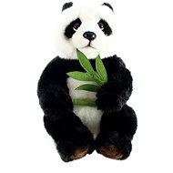 Panda s vetvičkou - Plyšový medveď