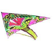 Drak lietajúca Kobra čierna nylon - Šarkan