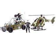 Helikoptéra a štvorkolka - Hracia súprava