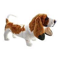 Pes baset - Plyšová hračka