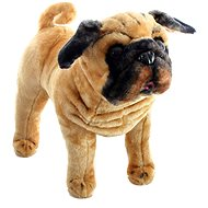 Pes buldog - Plyšová hračka