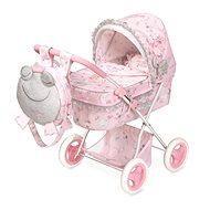 DeCuevas 85034 Skladací kočík pre bábiky s batôžkom a doplnkami Magic Maria 2020 - Kočík pre bábiky