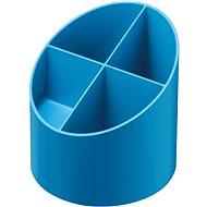 HERLITZ kulatý, 4 přihrádky, modrý