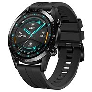 Huawei Watch GT 2 Black Fluoroelastomer Strap - Smart hodinky