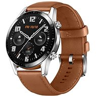 Huawei Watch GT 2 Brown Leather Strap - Smart hodinky