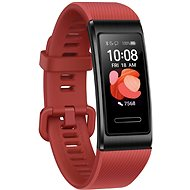 Huawei Band 4 Pro Cinnabar Red - Fitness náramok