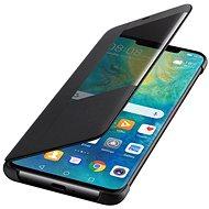 Huawei Original S-View Black pre Mate 20 Pro (EU Blister) - Puzdro na mobil