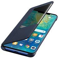 Huawei Original S-View Deep Blue pre Mate 20 Pro (EU Blister) - Puzdro na mobil