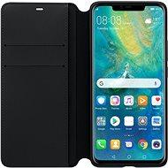 Huawei Original Wallet Black pre Mate 20 Pro (EU Blister) - Puzdro na mobil