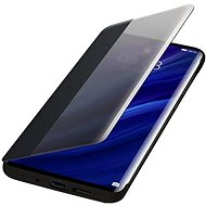 Huawei Original S-View Puzdro Black na P30 Pro - Puzdro na mobil