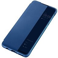 Huawei Original S-View Puzdro Blue na P30 Lite - Puzdro na mobil