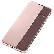 Huawei Original S-View Puzdro Pink na P30 Lite - Puzdro na mobil