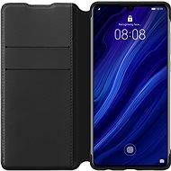 Huawei Original Wallet Puzdro Black na P30 Lite - Puzdro na mobil