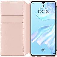 Huawei Original Wallet Puzdro Pink na P30 - Puzdro na mobil