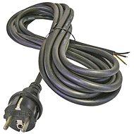 Napájací kábel EMOS Flexo šnúra gumová 3× 1,5 mm2, 5 m, čierna