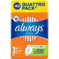 ALWAYS Ultra Normal Plus 40 ks - Menštruačné vložky