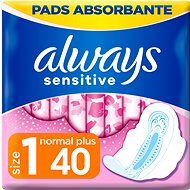 ALWAYS Sensitive Ultra Normal Plus 40 ks - Menštruačné vložky