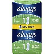 ALWAYS Ultra Standard Duo pack 24 ks - Hygienické vložky