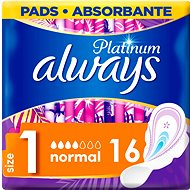 ALWAYS Platinum Ultra Normal Plus Duopack 16 ks - Menštruačné vložky