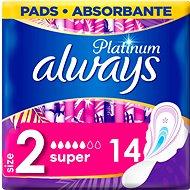 ALWAYS Platinum Ultra Super Plus Duopack 14 pcs - Sanitary Pads