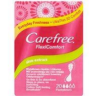 CAREFREE FlexiComfort Aloe 20 ks - Dámske vložky
